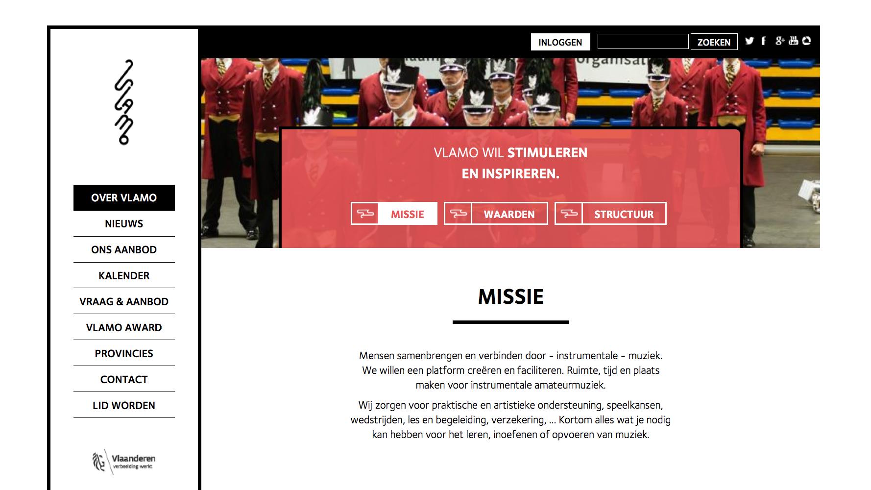 Vlamo Website