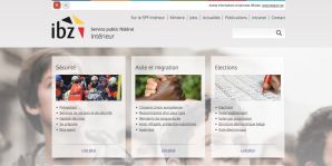 screenshot website FOD Binnenlandse Zaken